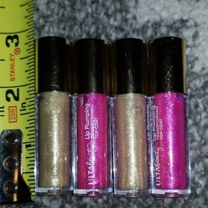 NWOT ulta glitter gloss bundle/lot